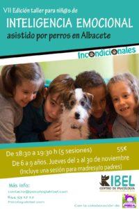 VII Edición de Incondicionales - Taller de Inteligencia Emocional asistida por perros